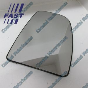 Fits Fiat Ducato Peugeot Boxer Citroen Relay Upper Right Heated Mirror Glass 06-On