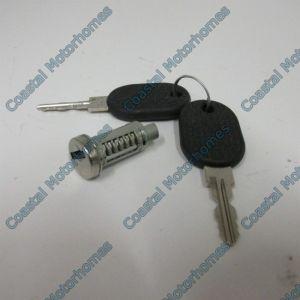 Fits Talbot Express Fiat Ducato Peugeot J5 Citroen C25 Door Lock Barrel Keys