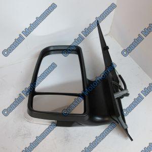 Fits Volkswagen Crafter Mercedes Sprinter Wing Door Mirror Short Arm Manual Left