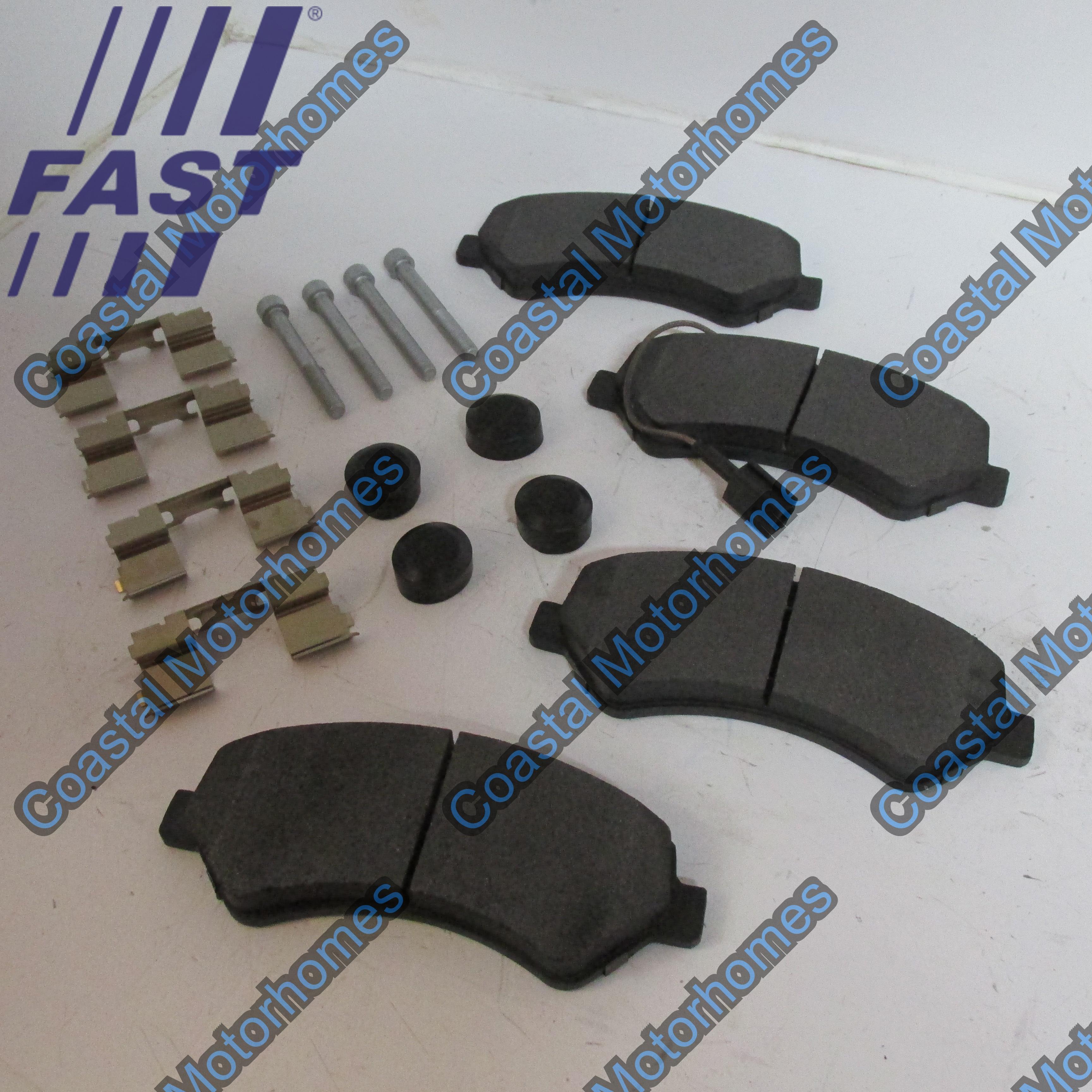 Fiat Ducato Peugeot Boxer Citroen Relay Front Brake Pad Set 77364014
