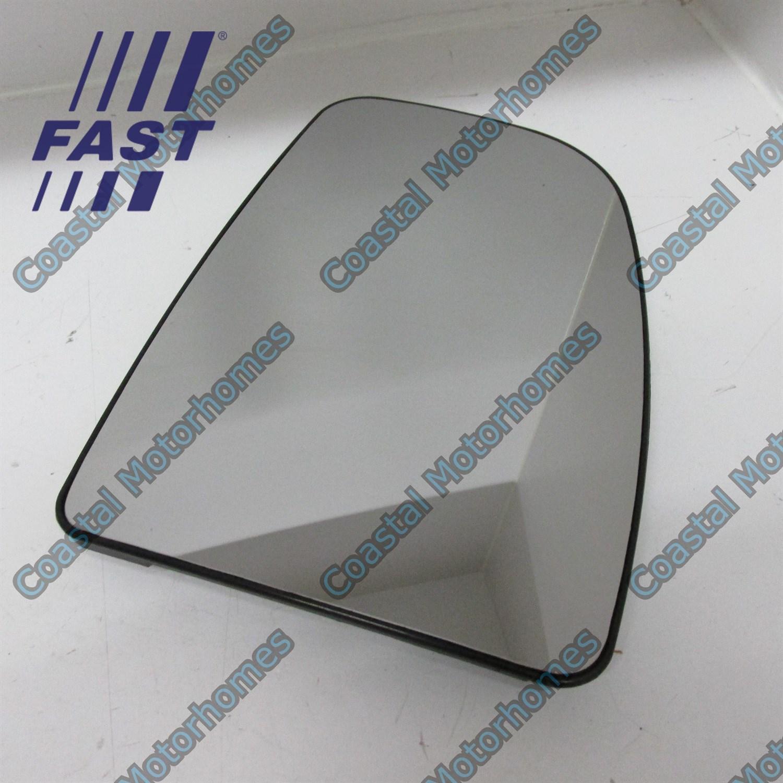FIAT DUCATO CITROEN JUMPER PEUGEOT BOXER 06 TOP MIRROR GLASS HEATED LEFT