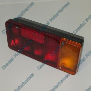 Fits Citroen Relay Fiat Ducato Peugeot Boxer Rear Box Light Cluster 94-06 Pins Fog