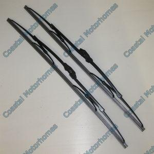 Fits Talbot Express Fiat Ducato Pair Wiper Blades X2 Peugeot J5 Citroen C25