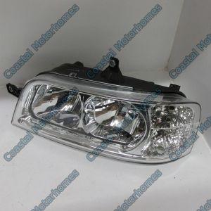 Fits Fiat Ducato Peugeot Boxer Citroen Relay Left Headlight Lamp 244 2002-2006