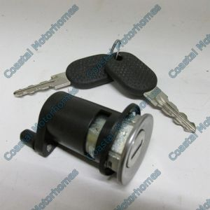 Fits Citroen Relay Fiat Ducato Peugeot Boxer Left Door Lock Barrel Keys (02-06)