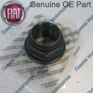 Fits Citroen Relay Fiat Ducato Peugeot Boxer Rear Wheel Hub Nut 2002-Onwards OE