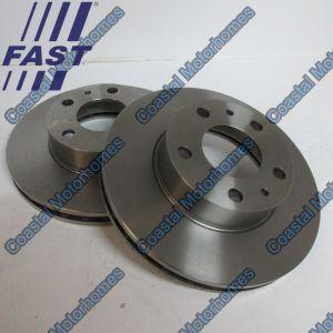 Fits Fiat Ducato Peugeot Boxer Citroen Relay Front Discs Q17 (06-14) 51848620