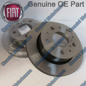 Fits Fiat Ducato Peugeot Boxer Citroen Relay Rear Discs Q20 (14-On) OE 51957512