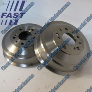 Fits Fiat Ducato Peugeot J5 Boxer Citroen C25 Relay Talbot Express Rear Brake Drums