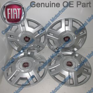 "Fits Fiat Ducato 15"" Wheel Trim Hub Caps 2006-2014 OE X4"