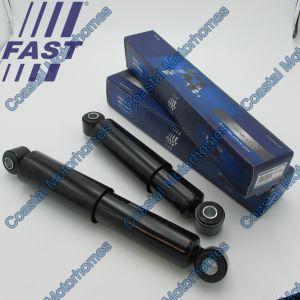 Fits Fiat Ducato Peugeot Boxer Citroen Relay 2x Rear Oil Shocks 443mm (2006-Onwards)