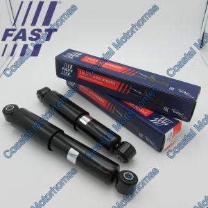 Fits Fiat Ducato Peugeot Boxer Citroen Relay 2x Rear Oil Shocks 417mm (2006-Onwards)