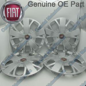 "Fits Fiat Ducato 16"" Wheel Trim Hub Caps 2014 Onwards OE X4"