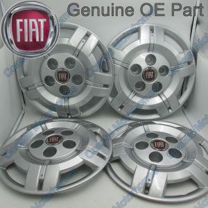 """Fits Fiat Ducato Peugeot Boxer Citroen Relay Hub Caps 16"""" 2006-2014 OE X4"""