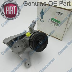 Fits Fiat Ducato Iveco Daily Power Steering Pump 2.3L JTD Recon OE (06-On)
