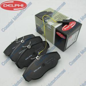 Fits Fiat Ducato Peugeot Boxer Citroen Relay Brake Pad Set 1-Sensors (1994-2002)
