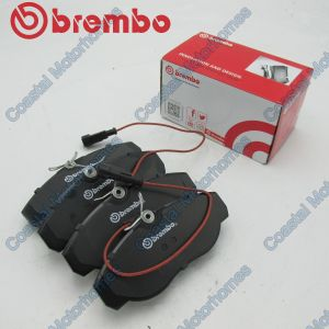 Fits Fiat Ducato Peugeot Boxer Citroen Relay Brake Pad Set 2-Sensors (1994-2002)