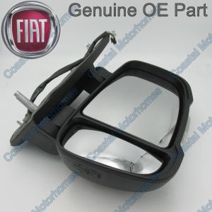 Fits Fiat Ducato Peugeot Boxer Citroen Relay Right LHD Short Arm Mirror (06-On)