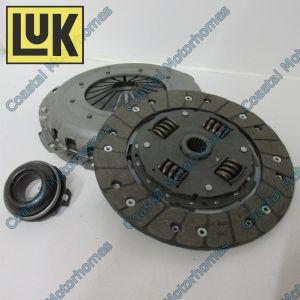 Fits Fiat Ducato 3 Piece Clutch Kit 1.9 Diesel TD 2.4-2.5 Diesel TD LuK 230mm