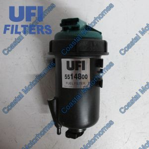 Fits Fiat Ducato Fuel Filter Housing Complete Peugeot Boxer Citroen Relay  2.3 3.0
