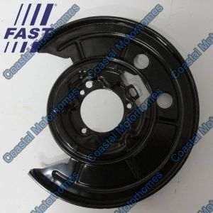 Fits Fiat Ducato Peugeot Boxer Citroen Relay Rear Left Discs Brake Backing Plate