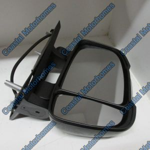 Fits Fiat Ducato Peugeot Boxer Citroen Relay Right Manual Short Arm Mirror 250