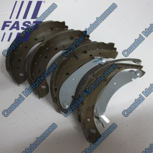 Fits Fiat Ducato Peugeot Boxer Citroen Relay Rear Brake Shoes 230 Q18 (94-02) 9945884