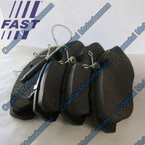 Fits Fiat Ducato Peugeot Boxer Citroen Relay Front Brake Pads (94-02) HD 71752980