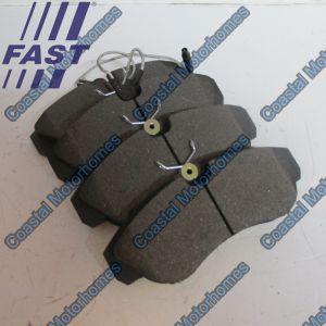 Fits Fiat Ducato Peugeot Boxer Citroen Relay Front Brake Pads Q18 (94-02) 9945810