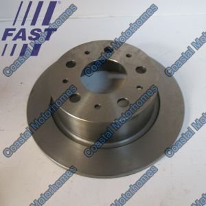 Fits Fiat Ducato Peugeot Boxer Citroen Relay Rear Brake Disc Q20 (06-14) 51749555