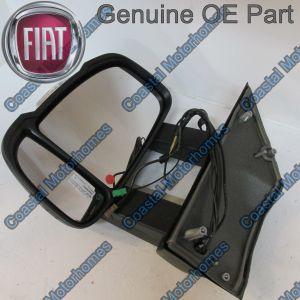 Fits Fiat Ducato Peugeot Boxer Citroen Relay Left Long Arm Mirror DAB Aerial 06-14