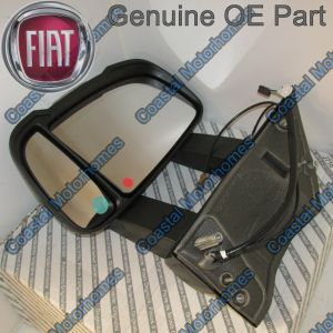 Fits Fiat Ducato Peugeot Boxer Citroen Relay Left Long Arm Mirror With Aerial 06-14