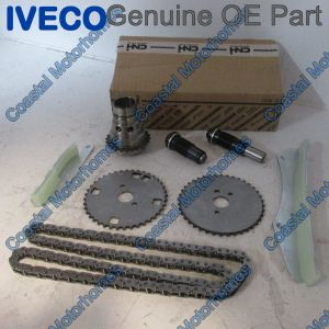 Fits Fiat Ducato Iveco Daily Relay Boxer Upper Timing Chain Kit 3.0L JTD-HDI (06-On)
