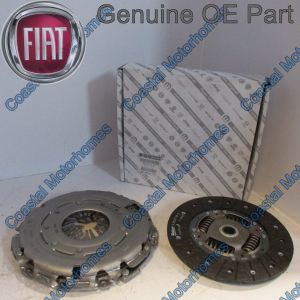 Fits Fiat Ducato Peugeot Boxer Citroen Relay Clutch Kit 2.3JTD (06-On) OE 5801407375