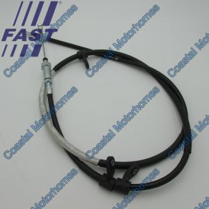 Fits Fiat Ducato Peugeot Boxer Citroen Relay Front Hand Brake Cable 06-On 1359246080