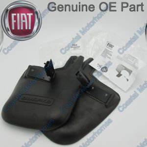 Fits Fiat Ducato Rear Mud Flap Splash Guards Kit 06-On Genuine OE 50901516