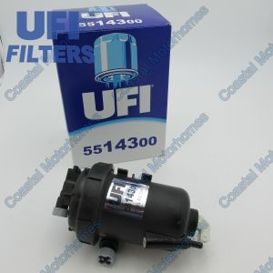 Fits Fiat Ducato Peugeot Boxer Citroen Relay Fuel Filter + Housing 2.3JTD-HDI (02-06)