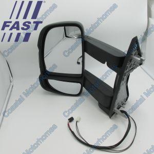 Fits Fiat Ducato Peugeot Boxer Citroen Relay LHD Left Long Arm Mirror Temp Sender 06-