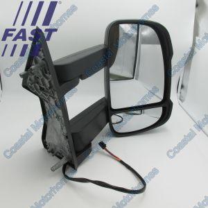 Fits Fiat Ducato Peugeot Boxer Citroen Relay LHD Right Long Arm Mirror 2006-Onwards