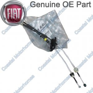 Fits Fiat Ducato Peugeot Boxer Citroen Relay Gear Change Cables RHD Stop&Start 11-On