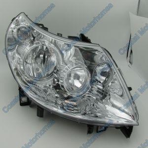 Fits Fiat Ducato Citroen Relay Peugeot Boxer Right Headlight Purple Plug (11-14)