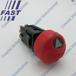 Fits Fiat Ducato Peugeot Boxer Citroen Relay Hazard Warning Light Switch 230