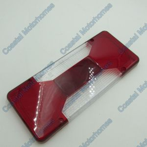 Fits Iveco Daily Fiat Doblo Rear Light Lens (06-On)