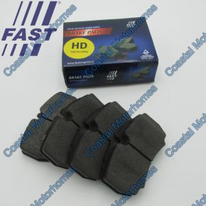 Fits Iveco Daily III-IV-V-VI Rear Brake Pads Set HD Without Wear Sensors (1997-On)