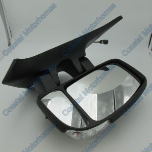 Fits Nissan NV400 Renault Master Vauxhall Movano Short Arm Mirror Right Clear (11-On)