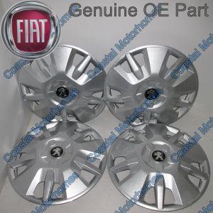 "Fits Peugeot Boxer 15"" Wheel Trim Hub Caps 2006 Onwards OE X4"