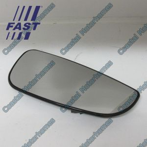 Fits Fiat Ducato Peugeot Boxer Citroen Relay Lower Right Heated Mirror Glass 06-On