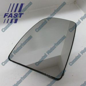 Fits Fiat Ducato Peugeot Boxer Citroen Relay Upper Left Heated Mirror Glass 06-On
