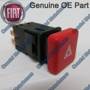 Fits Fiat Ducato Peugeot Boxer Citroen Relay Hazard Warning Switch 230 OE