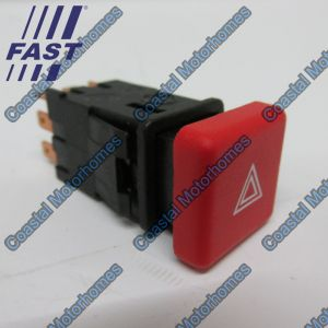 Fits Fiat Ducato Peugeot Boxer Citroen Relay Hazard Warning Switch 230